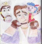 Eugene and Maximus with Cubbi by Nostalgialover808
