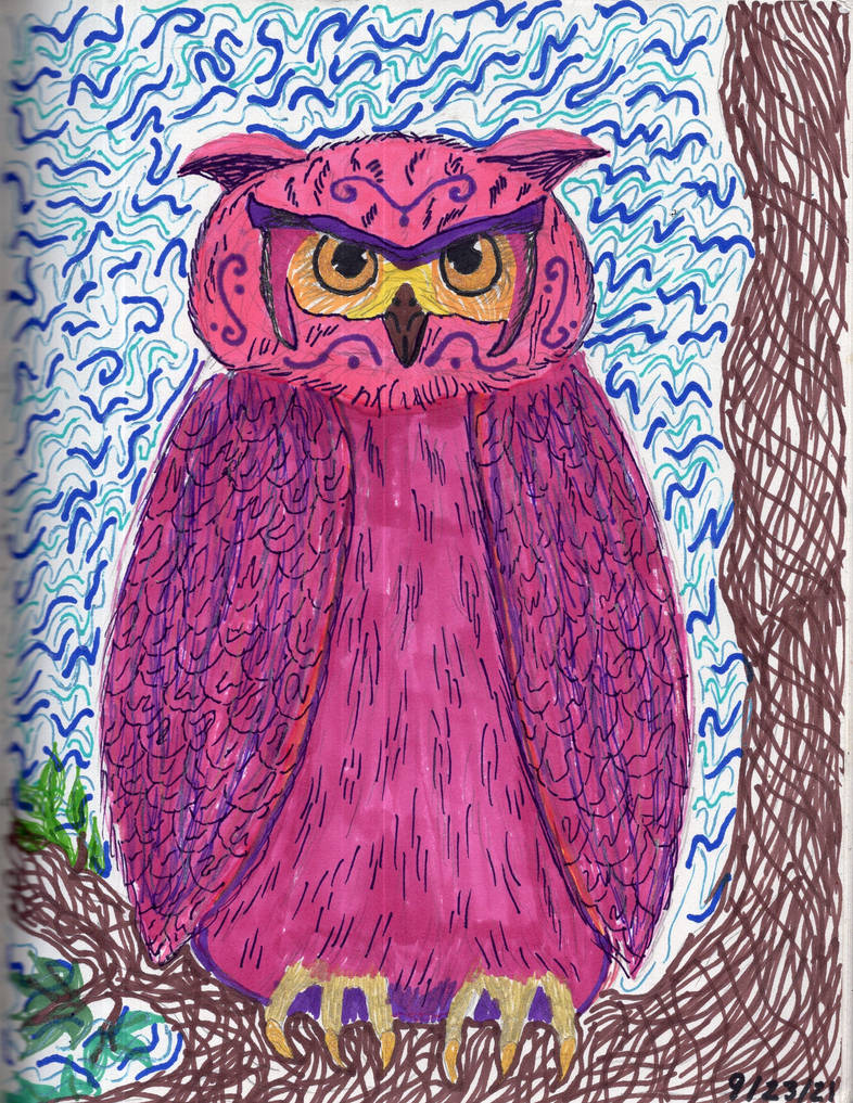 Rest Well, My Wise Owl