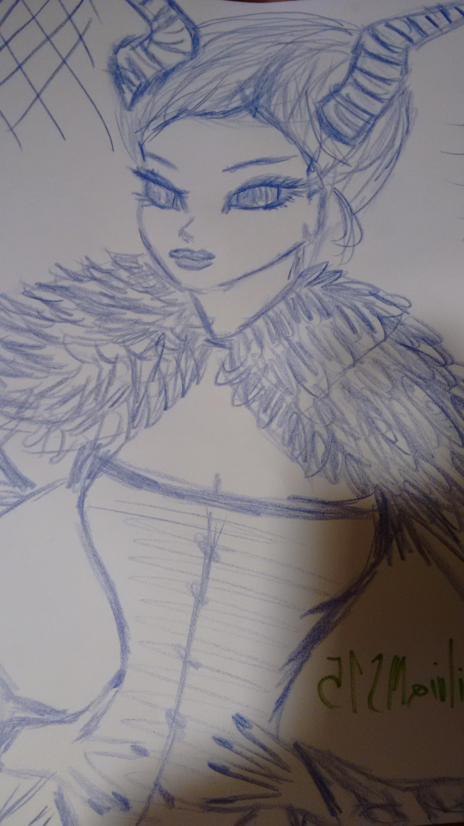 Lady Demon by SilviaMS