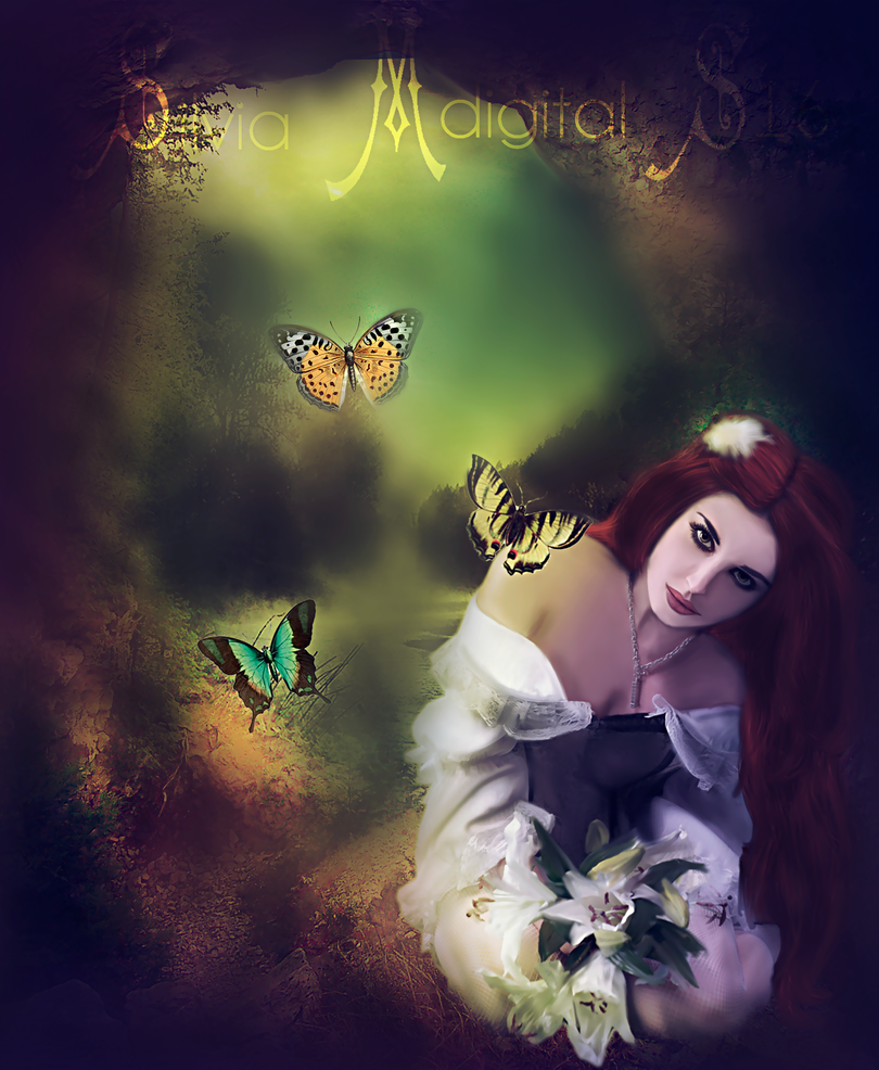 Where Butterflies Rest by SilviaMS