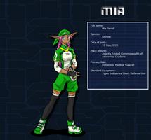 Week 5 - Mia by silversword