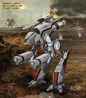 Mechwarrior Online: Marauder Contest by silversword