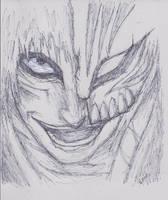 Hollow Ichigo by GiveEmHellKiddd