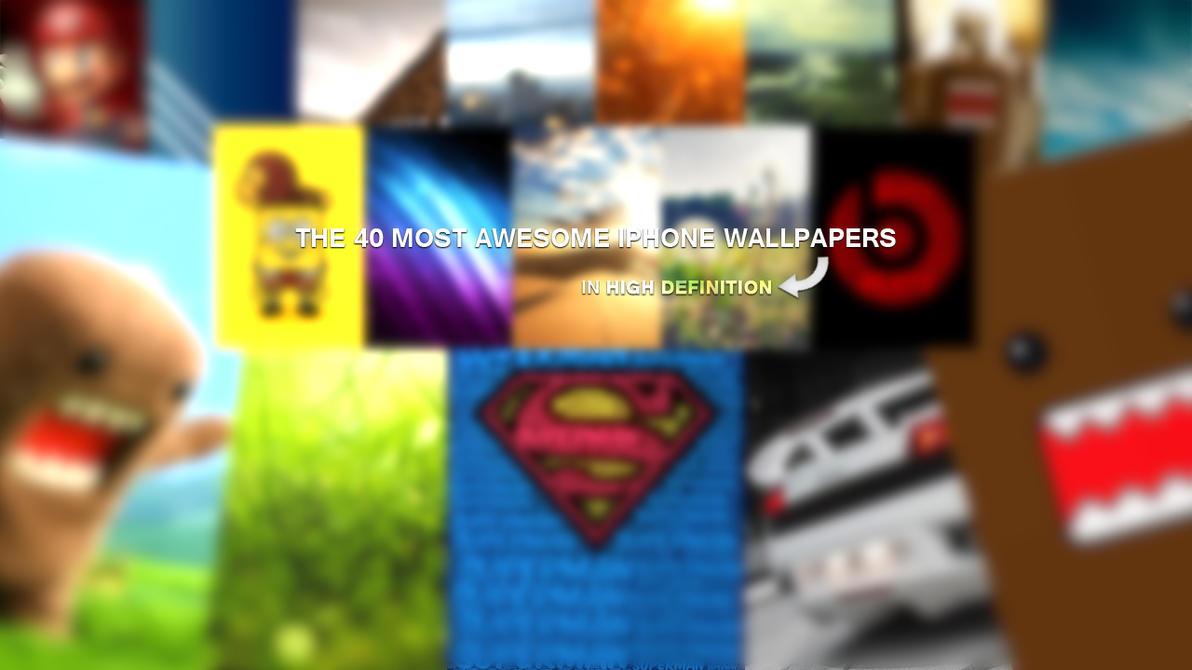 Undefined Cool Wallpaper For Iphone 40 Wallpapers: The 40 Most Awesome IPhone Wallpapers By ItscaN On DeviantArt