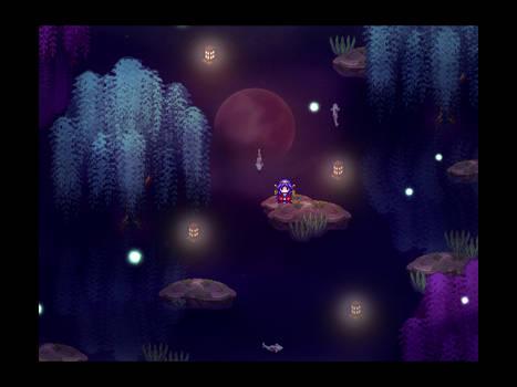 Title screen - Moonlight densetsu (WIP)