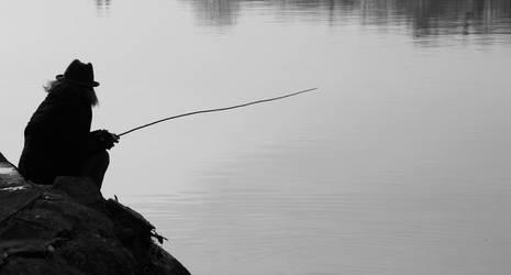 Fishing by EleaLaFleur