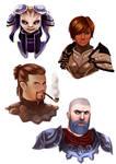 GW2 Character Portraits