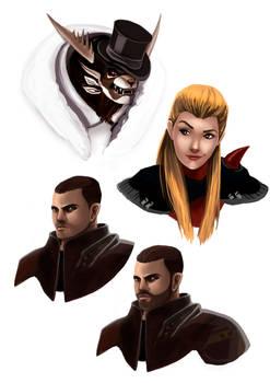 GW2 Character Portraits 2