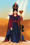 Jasmine as Jafar
