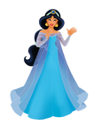 Jasmine as Elsa II
