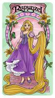 Rapunzel - Art Nouveau