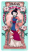 Mulan - Art Nouveau