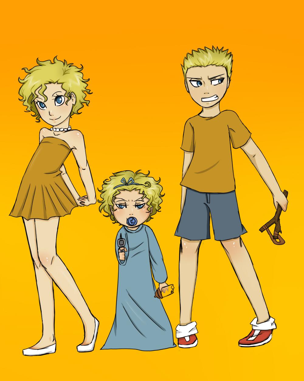 The Simpsons Kids by AviraTheStrange