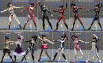 DoA6 mod:  Nyotengu Cosplay Set by immersion456