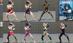 DoA6 mod:  Lady Hayate (ladies with Hayate moves) by immersion456