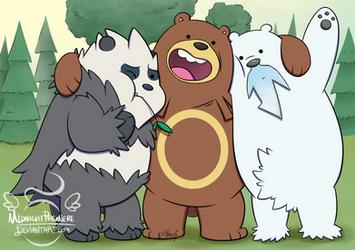 Poke Bare Bears by midnightpremiere