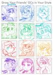 Draw Your Friends OCs 2