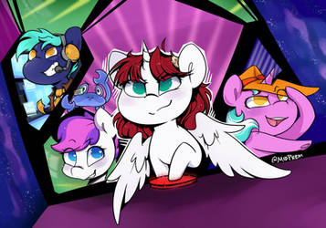 Official Bronycon Lauren Faust Announcement Art