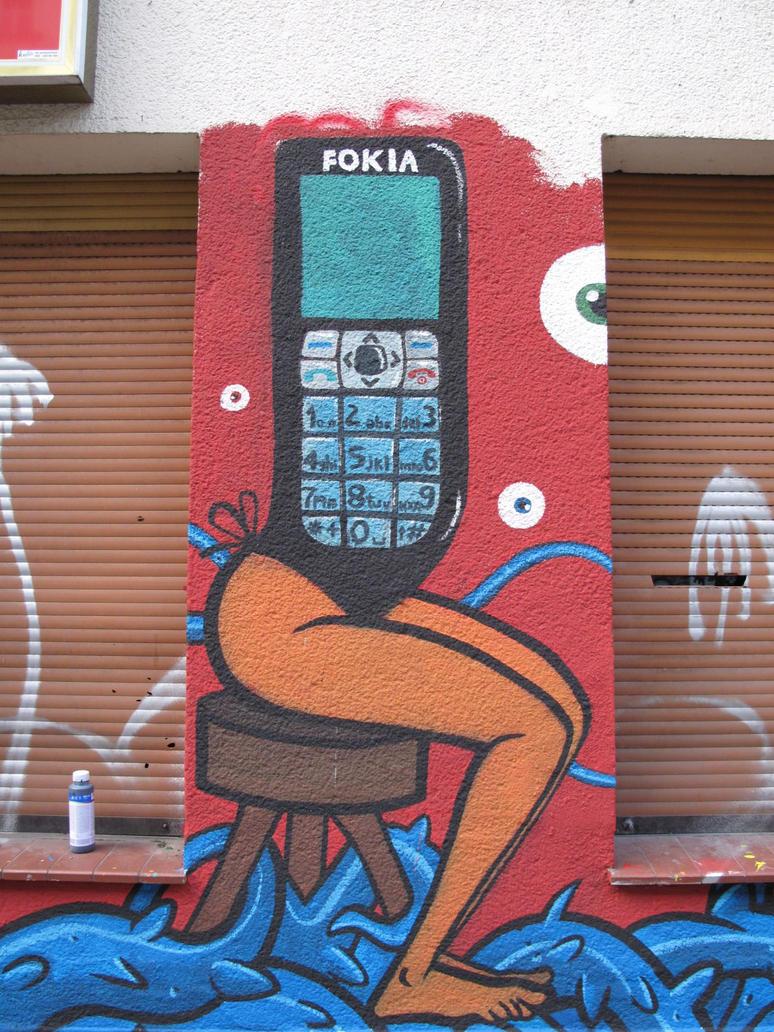 SLAVES,mural in Berlin III by Sadboy-Elchicotriste