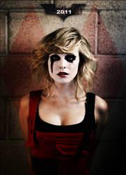 Harley Quinn teaser poster. by chupa-chups-life