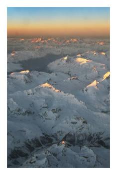 Peaks of Alps