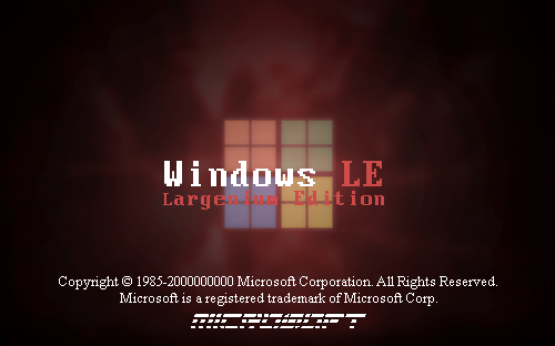Windows LE - Largenium Edition by PeterTrifonov1999A1