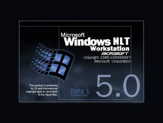 Windows NLT 5.0 Beta 1 by PeterTrifonov1999A1