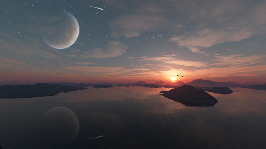 Planet In The Sky by avkhatri123 on DeviantArt