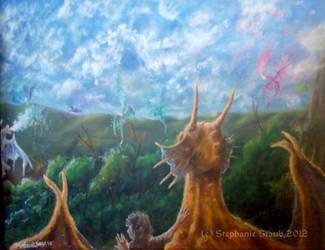 Dragons of Deltora by aussie-dragon