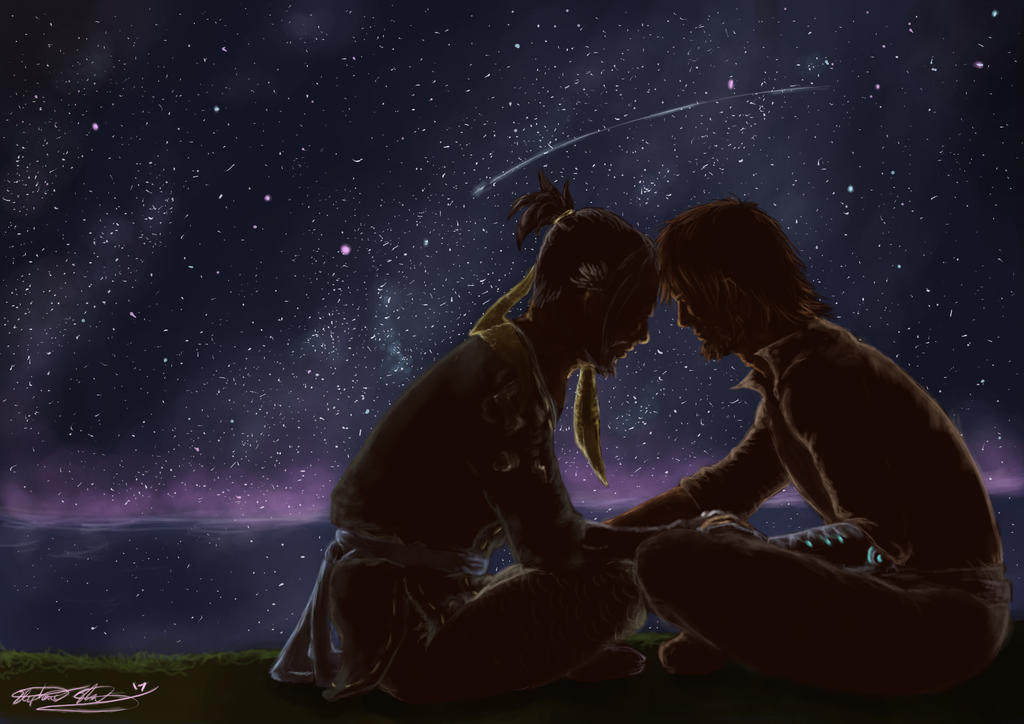 Counting Stars by aussie-dragon