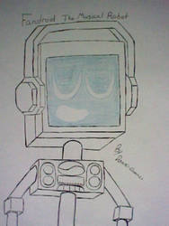 Fandroid, The Musical Robot by Domino-Dominus