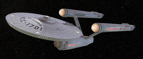 USS Enterprise by LordSchtupp
