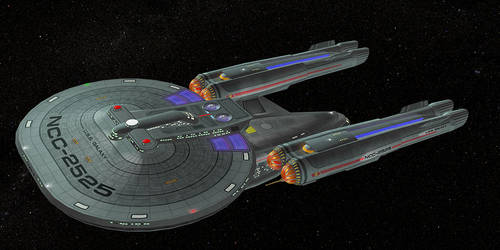 USS Galaxy by LordSchtupp