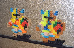 Perler Bead-Sprites 020 by danny-8bit