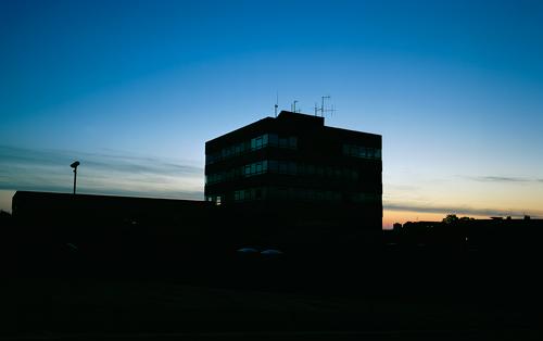 Old Police Station Sunrise by DM75