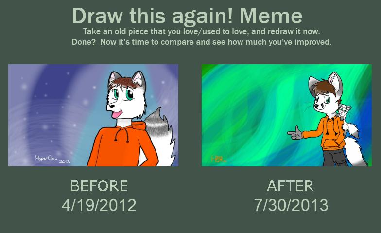 Draw This Again Meme