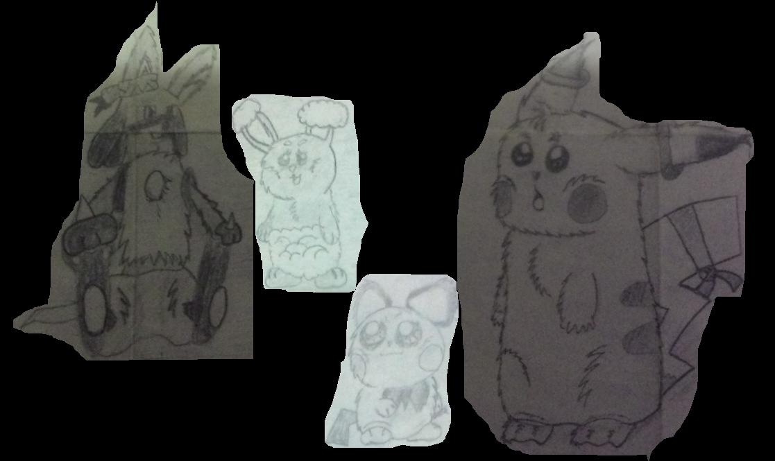 LucarioKnite, Turbo the Pikachu Concept art 4