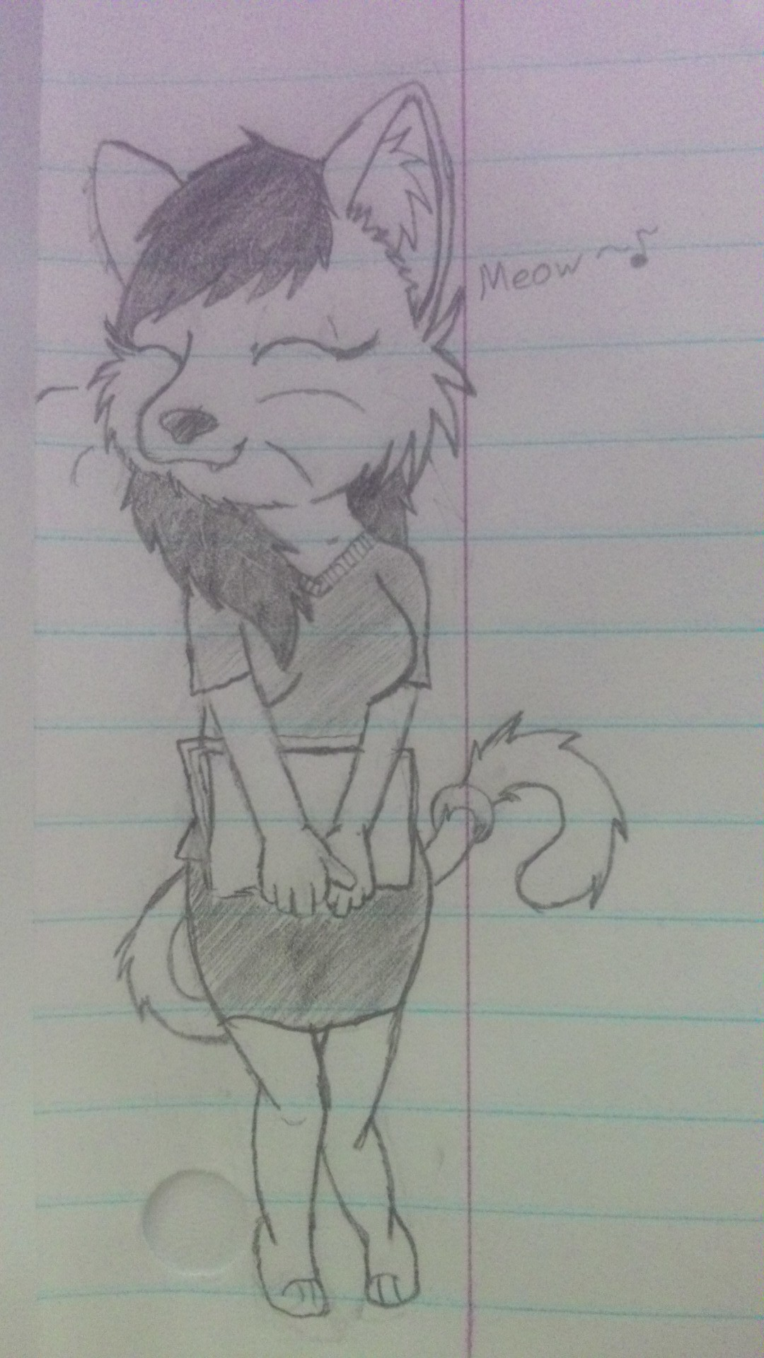 Doodles in Class 3: Meow~