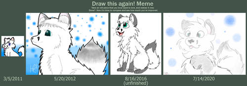Draw This Again: One Decade with My First Fursona