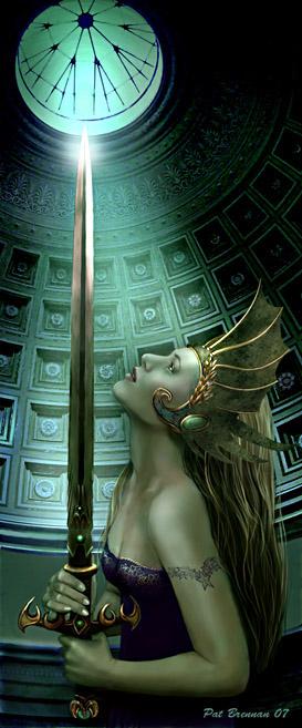 Swordlight by patriciabrennan