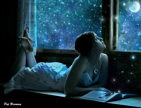 Moondreaming by patriciabrennan
