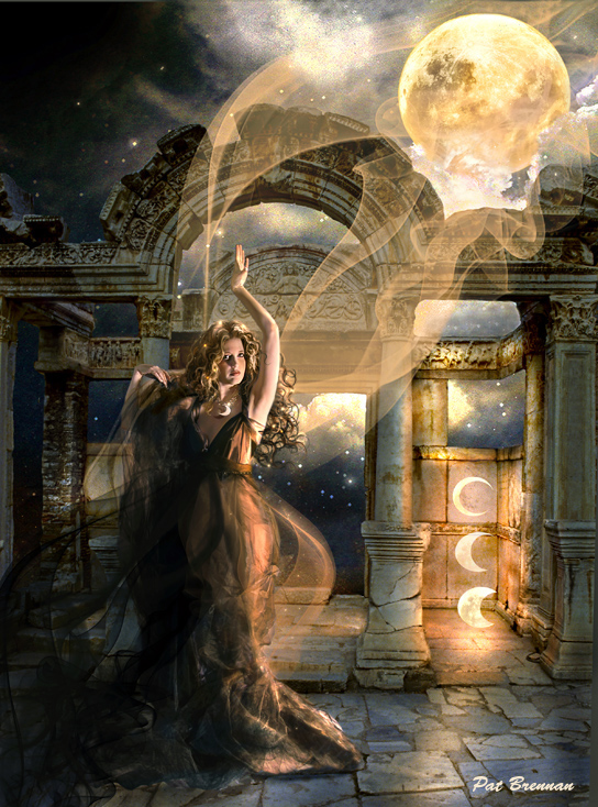 New Moon by patriciabrennan