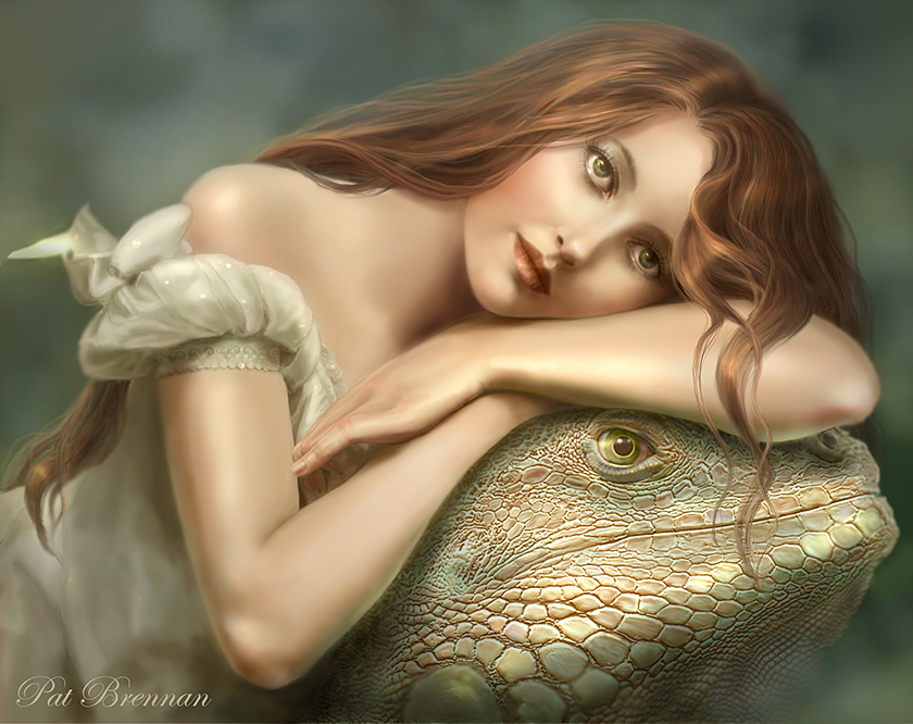 Lounge Lizard by patriciabrennan
