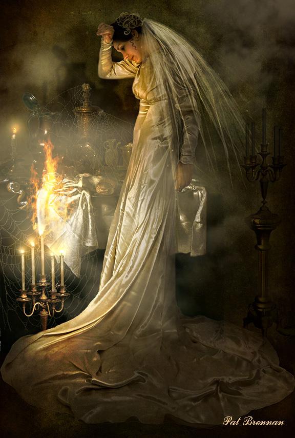 Miss Havisham's Descision by patriciabrennan on DeviantArt