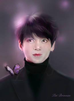 Jungkook  from  BTS