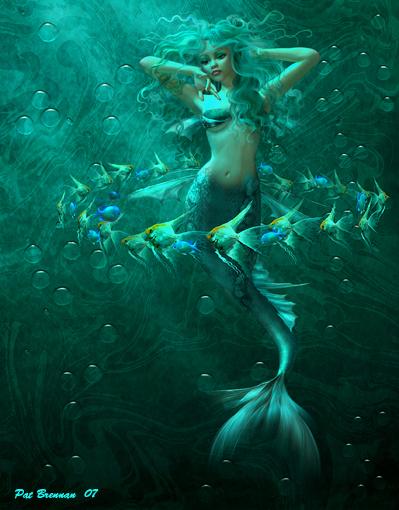 Sea dreamers by patriciabrennan