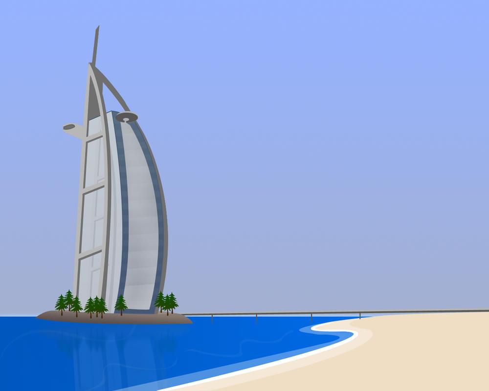 Burj Al Arab By Capital18 On Deviantart