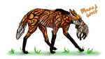 Things that Exist #4 - Maned Wolf by PurpleFlyingFox