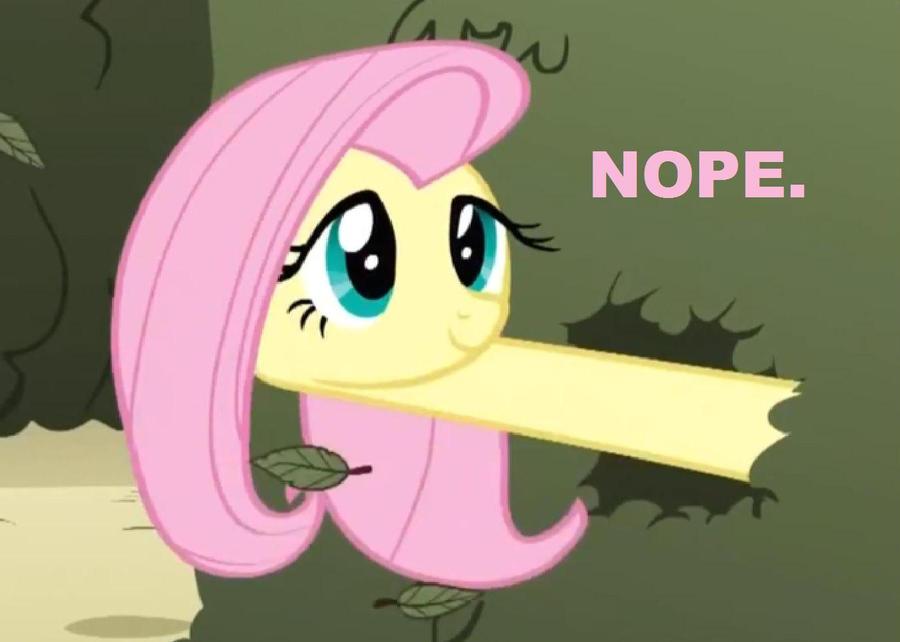 Fluttershy, do you like R34? by Crackerjack-Pony
