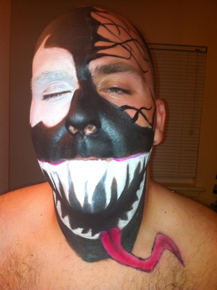 Venom Makeup. by Misa-Cupcake